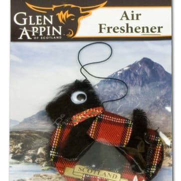 Black Scottie Dog Air Freshener