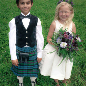 Children's Kilt Shirts and Vests