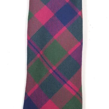 Glasgow Premium Wool Tartan Tie