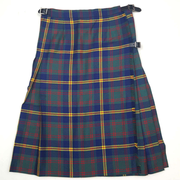 U.S. Marines Tartan Kilted Skirt 30W 25L