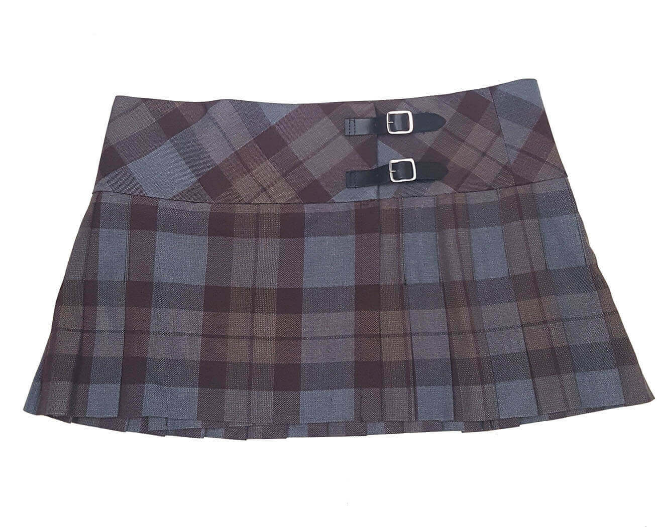 Outlander Poly/Viscose Tartan Mini Skirt