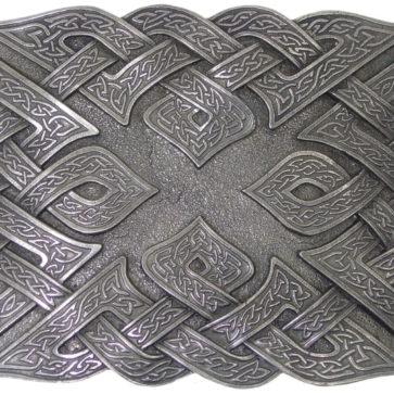 Don McKee Celtic Knot Kilt Belt Buckle