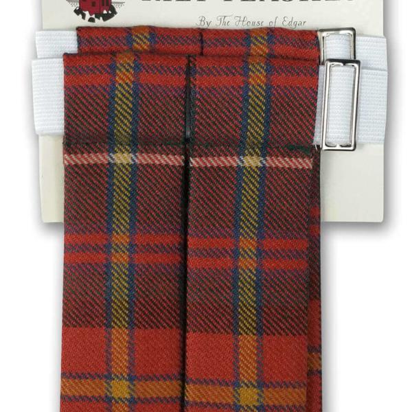 Premium Wool Tartan Flashes