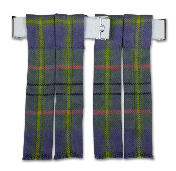 Premium Wool Tartan Flashes