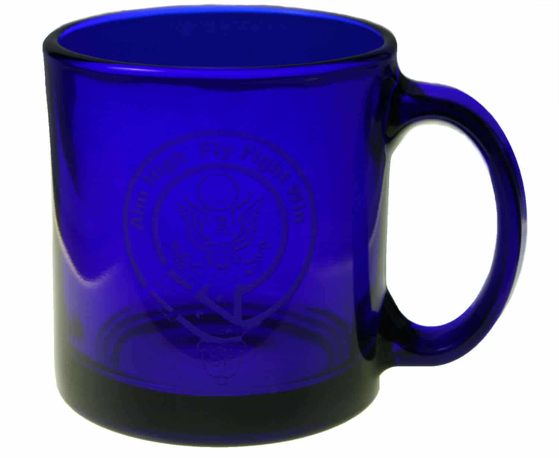 U.S. Air Force Etched Coffee Mug