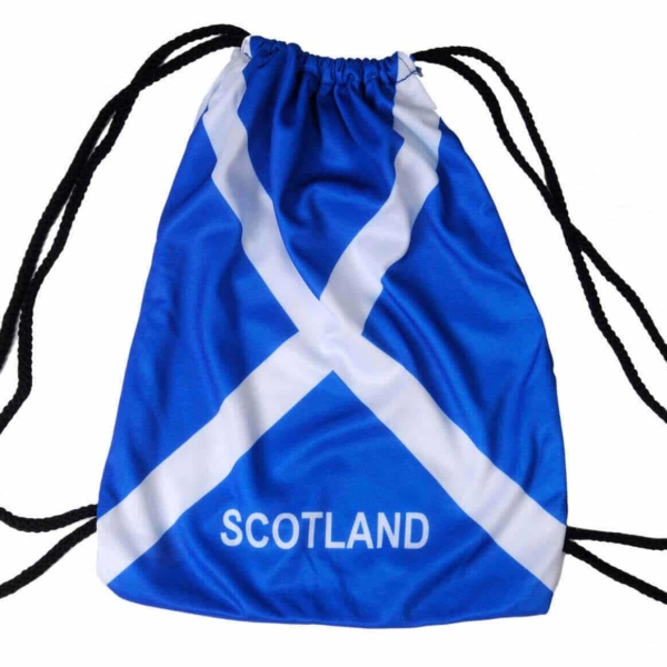 Draw String Scotland Backpack