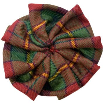 Old & Rare Premium Wool Tartan Rosettes