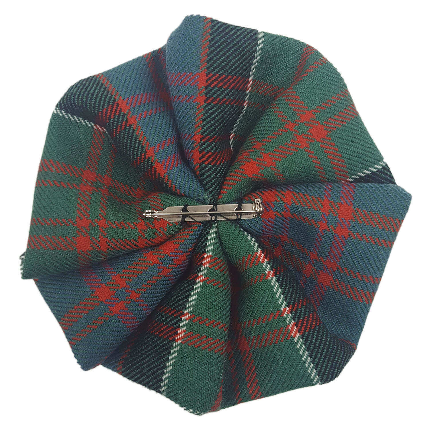 Medium Weight Premium Wool Tartan Rosettes
