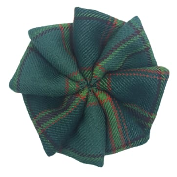 Light Weight Premium Wool Tartan Rosettes