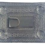 Antiqued Celtic Knot Kilt Belt Buckle
