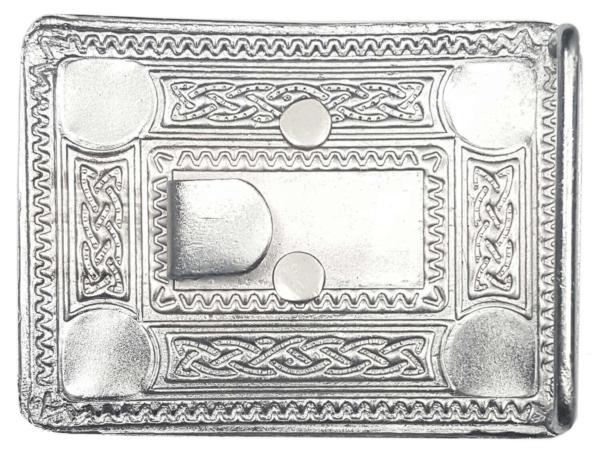 Masonic Celtic Knot Kilt Belt Buckle