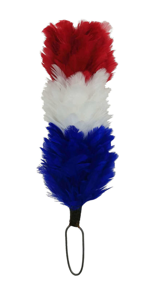 Red White and Blue Hackle