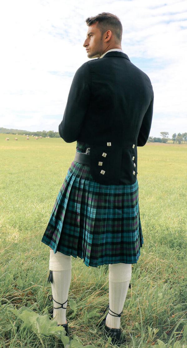 Prince Charlie Jacket & Vest (Black)