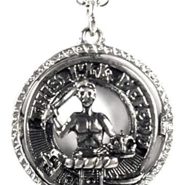 MacFarlane Clan Crest Necklace