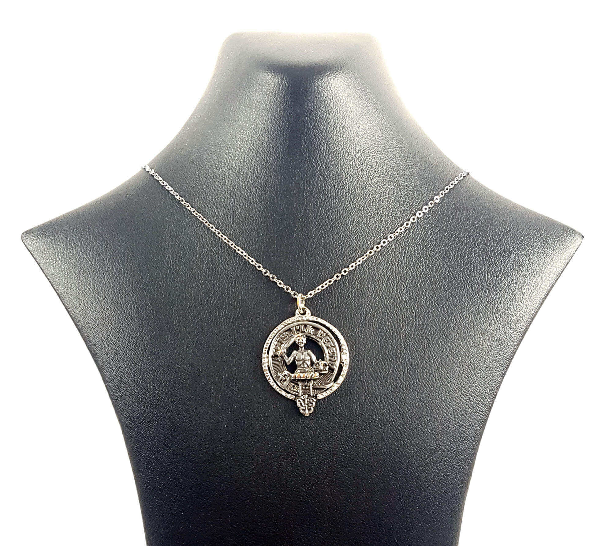 MacFarlane Clan Crest Necklace