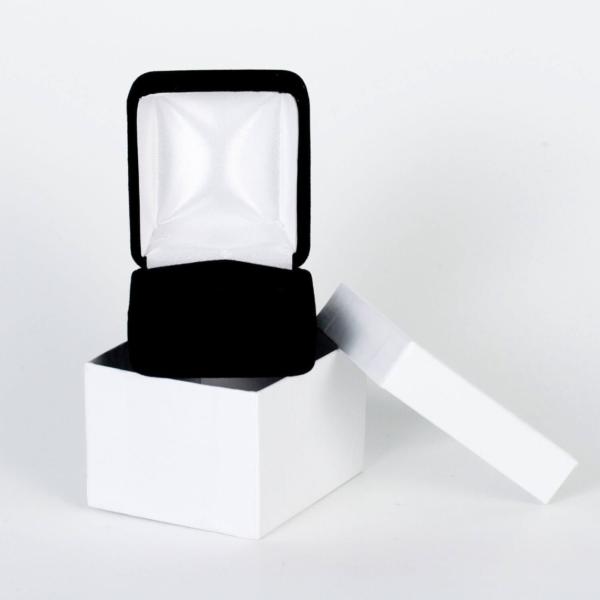 Velvet Gift Box For Rings