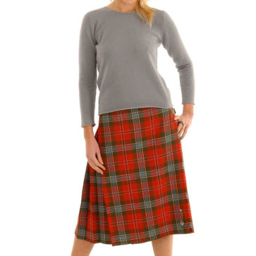 Light Weight Standard Ladies' Kilted Skirt (list A & B)