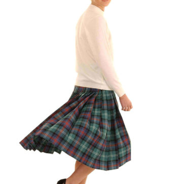 Light Weight Deep-Pleated Ladies' Kilted Skirt (list A & B)