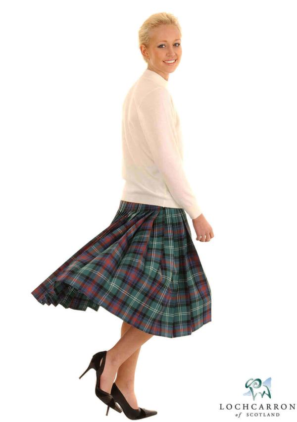 Light Weight Deep-Pleated Ladies' Kilted Skirt (list A & B)