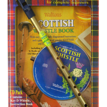 Scottish Whistle Tunebook and CD Set