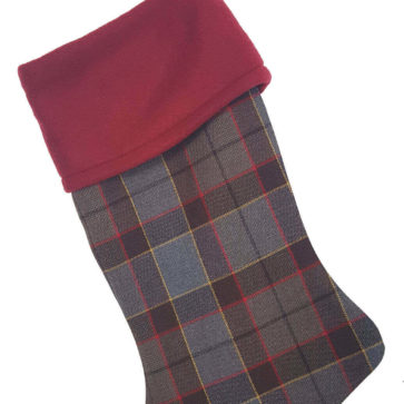 OUTLANDER FRASER TARTAN STOCKING