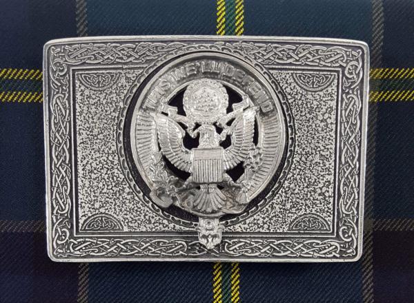 U.S. Army Pewter Kilt Belt Buckle