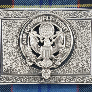 U.S. Air Force Pewter Kilt Belt Buckle
