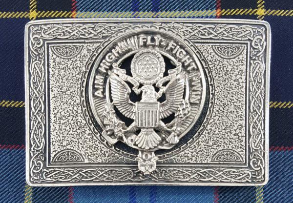 U.S. Air Force Pewter Kilt Belt Buckle