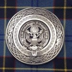 U.S. Air Force Round Kilt Belt Buckle