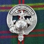 U.S. Marine Corps Pewter Cap Badge/Brooch