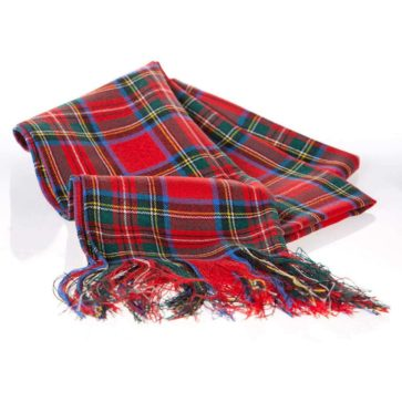 Poly/Viscose Tartan Ladies Sash