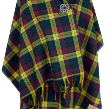 Spring Weight Wool Tartan Stoles