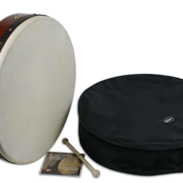 Waltons 18 inch Learn to Play Bodhran Gift-Pack Bodhran Kit