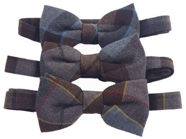 OUTLANDER Tartan Bow Tie Authentic Premium Wool