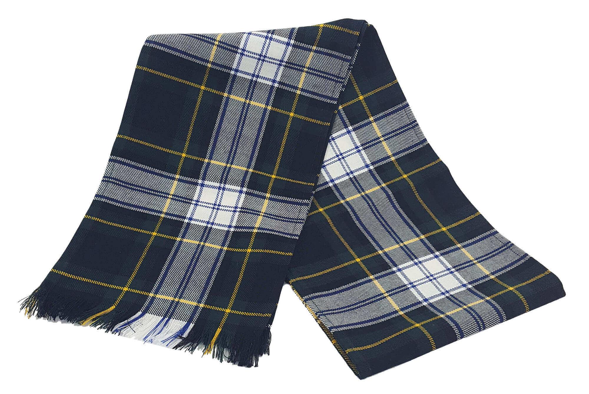 Gordon Dress Premium Wool Scarf