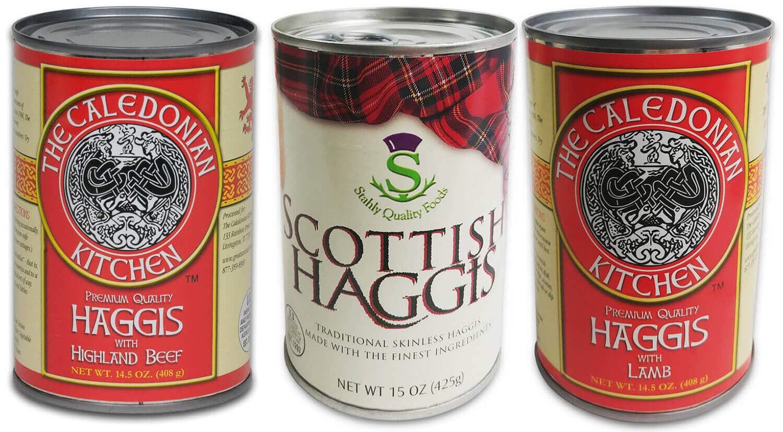 Haggis Sampler Case of 12 Cans