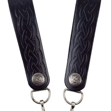 Celtic Embossed Sporran Suspender