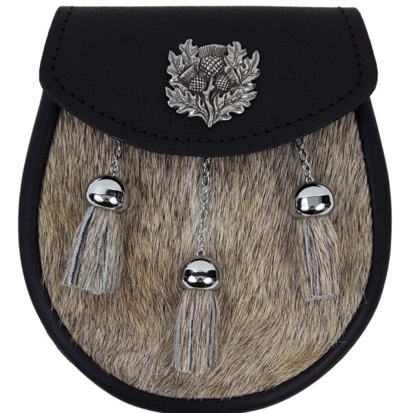 Thistle Premium Fur Sporran