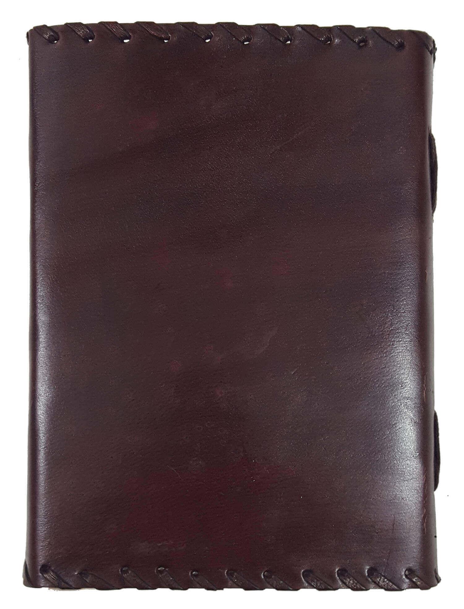 Plain Leather-Bound Journal