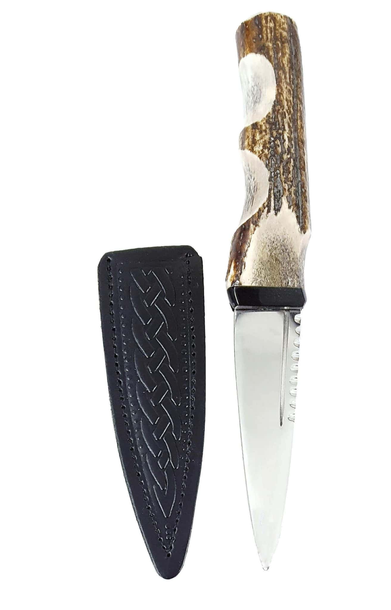 Stag Handle Sgian Dubh