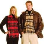 Light Weight Premium Wool Tartan Waistcoat Scarf