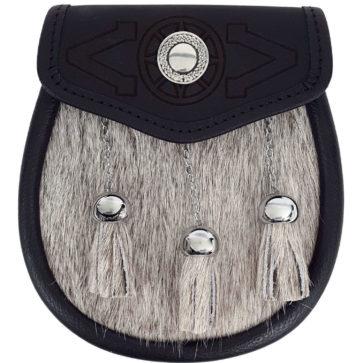 Targe Embossed Premium Fur Sporran