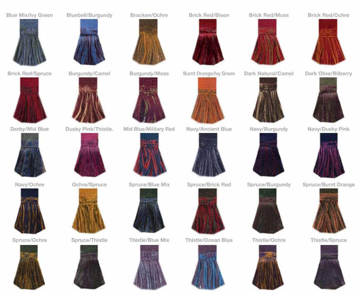 Traditional Multi-Color Self Tie Flashes