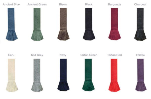 Traditional Solid Color Self Tie Flashes