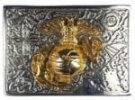 Don McKee US Marine Kilt Belt Buckle