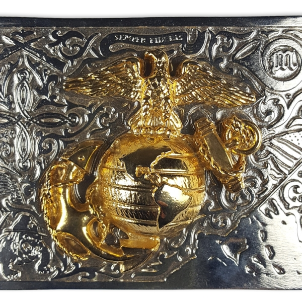 Don McKee US Marine Kilt Belt Buckle