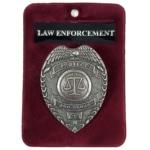 Law Enforcement Badge/Brooch