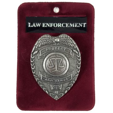 Law Enforcement Badge/Brooch