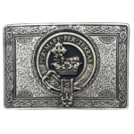 Clan Crest Buckle-MacDonald