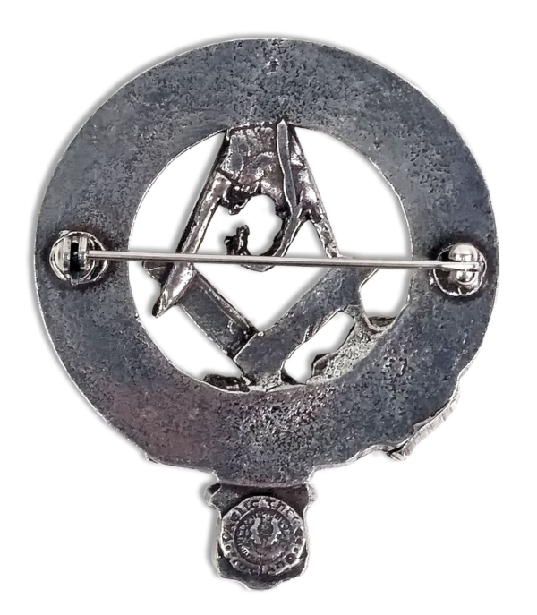 Masonic Cap Badge/Brooch